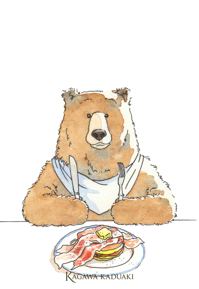 ベーコンホットケーキ